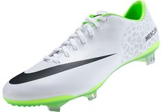 Nike Mercurial Vapor IX FG Soccer Cleats - White Reflective Pack...Free Shipping...Available at SoccerPro!