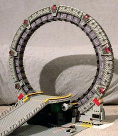 Stargate made from LEGOs