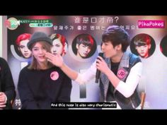 Nu'est-M Baekho, Minhyun, Ren, JR, Aron, JA. Super cute trading off introducing each others best characteristics over 8 minutes - including the best introduction of new member Jason. English Subs. <3 Ren <3 JRen moment - as JR advertises Ren for sale. <3