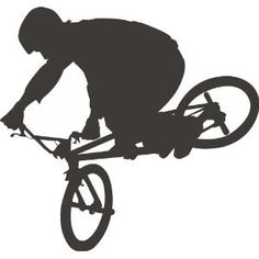 BMX Bike Wall Decal