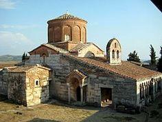 St. Mary's Orthodox Church in Apollonia, Albania.