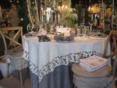 April Table-of-the-Month at Experience and Creative Design located in Schenectady, NY