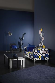 IKEA - LACK, Nesting tables, set of black, white, Can be used individually or be pushed together to save space. Coordinates with other products in the LACK series. Ikea Series, Ikea Lack, Hidden Storage, Nesting Tables, Small Tables, Montage, Space Saving, Storage Spaces, Home Furnishings