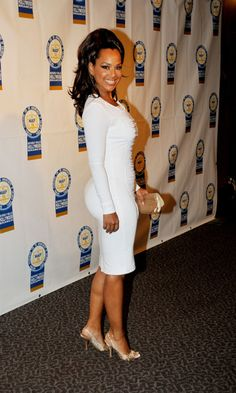 Lisa Raye McCoy - Eva Marcille and Shoshana Bean attending the 22nd Annual NAACP Theatre Awards at the Directors Guild of America in Los Ang...