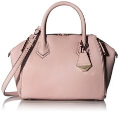 Amazon.com: Rebecca Minkoff Mini Perry Satchel Shoulder Bag, Bleached Blue, One Size: Clothing