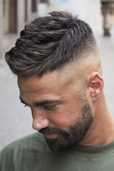 We have created a photo gallery featuring crew cut hair ideas. We know that finding the right cut can be complicated, especially if style is not the only thing that you are searching for. And crew cuts are also practical and work great for any face shape. Check out our blog post! #haircuts #menshaircuts #crewhaircut #shorthaircuts
