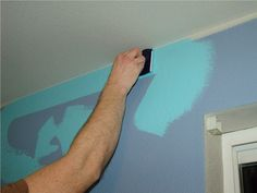 Awesome painting tips!  One mom has some great time saving tips and tricks to make things MUCH easier!