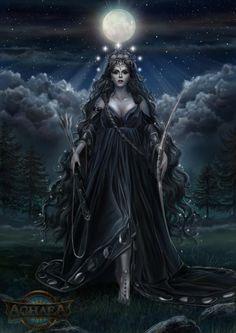 Ourania, Goddess of the Moon
