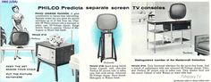 1960's Philco TV ad showing the Continental for the first time