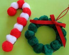 adornos-de-Navidad-con-pompones-y-cartn.jpg (550×438)