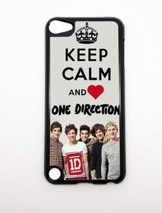 Apple iPod Touch iTouch 5G 5 5th Gen Generation Keep Calm And Love One Direction Heart 1D Design BLACK SIDES Slim HARD Case Skin Cover Protector Mobile MP3 Player Accessory Vintage Retro Unique Case Cartel by CaseCartel, http://www.amazon.com/dp/B00B3129UY/ref=cm_sw_r_pi_dp_lyn.qb05KKGHR