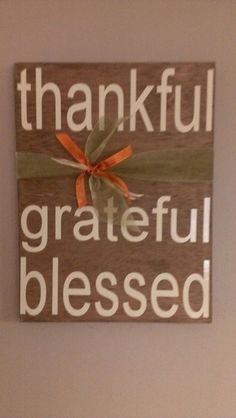 Thanksgiving Sign by WordArtTreasures on Etsy, $16.00