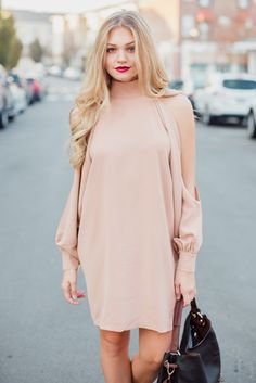 Beautifully Nude Dress – Swoon Boutique