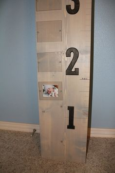 kids growth chart by aarondesigns on Etsy, $80.00