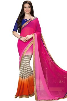 #exclusive #prodigious #partywear #sarees in Rs.1699/- Stunning creation by fabyroots buy now: http://fabyroots.com/sarees?p=2