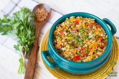 Baby Food Recipes, Vegan Recipes, Romanian Food, Buckwheat, Raw Vegan, Fried Rice, Goodies, Dishes, Vegetables