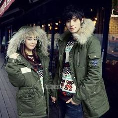 Buy 'Evolu – Faux Fur Trim Hooded Couple Parka' with Free International Shipping at YesStyle.com. Browse and shop for thousands of Asian fashion items from China and more!
