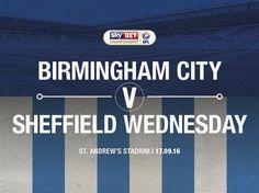 Preview: Blues v Sheffield Wednesday