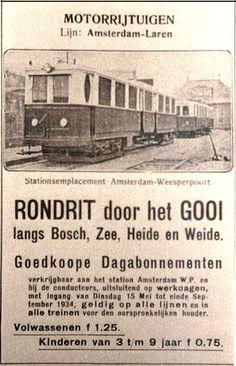 Met de Gooische Stoomtram van Amsterdam naar Laren. #Naarden #Muiden #Bussum #gooisemeren