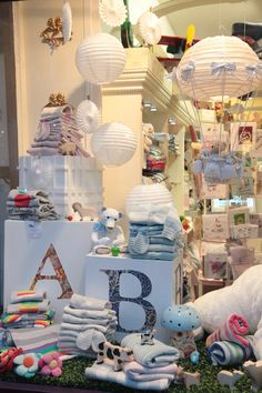 baby shop displays