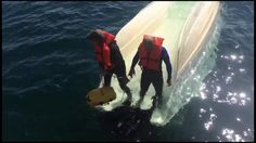 Saved by the Jacket (FL): Coast Guard Rescues 2 Divers after Boat Capsizes.