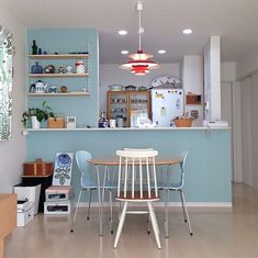 Exceptional home decor advice tips are readily available on our internet site. Kitchen Dining, Kitchen Decor, Kitchen Bar Design, Japanese Interior, Condo Living, Cottage Interiors, Home And Deco, Elegant Homes, My New Room
