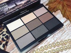 GOSH Cosmetics 9 Shade Shadow Collection: To Be Cool in Copenhagen
