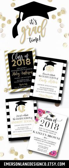 diy graduation invitation party ideas pinterest graduation