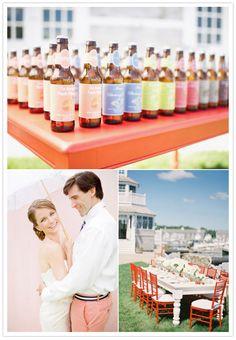 Nantucket wedding inspiration | http://www.100layercake.com/blog/2012/02/20/nantucket-wedding-inspiration/