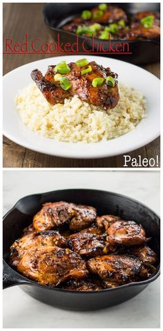 Paleo Red Cooked Chicken: A Whole New Twist on the traditional Eastern Chinese dish. #Paleo #Primal #GrainFree #GlutenFree #SoyFree  #ChineseFood