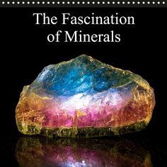 The Fascination of Minerals - CALVENDO calendar