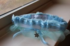 Ice Queen Garter by LAMBridalAccents on Etsy