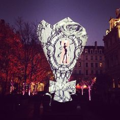 12 Most Surreal Light Installations at Lyon's Festival of Lights - My Modern Metropolis
