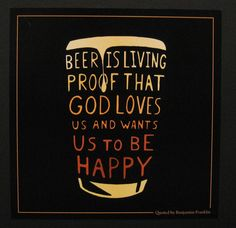 I love beer quotes!