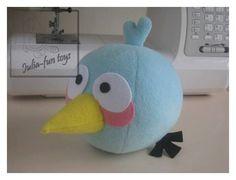 Eu Amo Artesanato: Angry birds