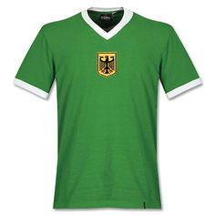 Camiseta Retro de Alemania Occidental 1970's Visitante