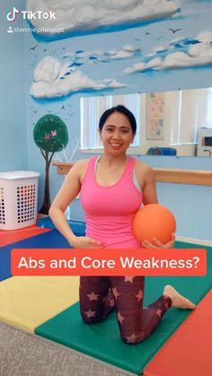 Abs and Core workout with Medicine Ball or Dumbbell