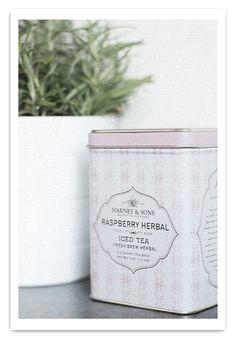 Raspberry herbal tea