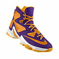 I designed the purple, white and gold LSU Tigers Nike women's basketball shoe.