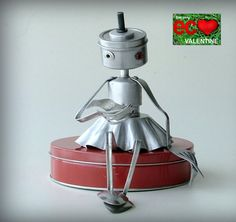 tins + tines = UPCYCLED LOVE