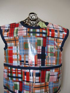 Children's Art Smock Size 24 made from by youresewcutekids on Etsy, $22.00