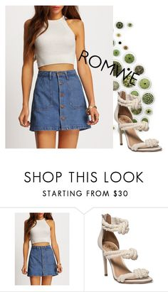 """""""Romwe Skirt"""" by lisal-288 ❤ liked on Polyvore"""
