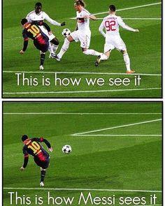 what #Messi sees...LOL #CR7 #cristianoronaldo #fifa #fifa16 #fifa17 #easportsfifa #easports #ea #coins #fut #ut #fut17 #football #futbol #soccer #likeforlike #like4like #likeplease #tagsomeone #tagsforlikes #followforfollow #follow4follow