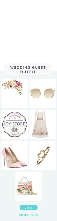 2 created on ShopLook.io featuring , , , , , ,  perfect for Wedding Guest.