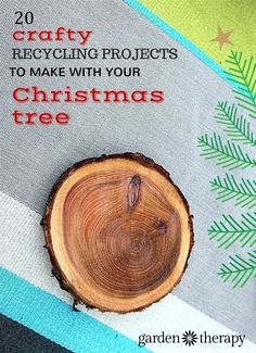 Make your Christmas Tree into ornaments, wall art, frames, candle holders, coasters and many more ideas