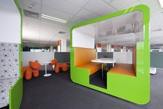 iSelect's Office, breakout / meeting pod