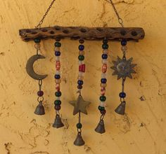 Celestial Wind Chime by LTreatDesigns on Etsy, $25.00