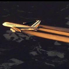 02209414b Air France Airbus A380 Airplane Photography