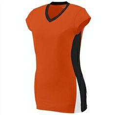 Augusta GIRL'S Hit Jersey | Augusta GIRL'S Hit Jersey 1311 | Moisture Wicking Jersey | Lacrosse Jersey | V-Neck Collar | Ladies' Fit Jersey ...