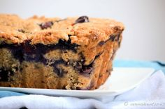 Peanut Butter Blueberry Banana Bread Recipe